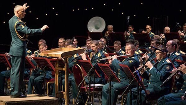 Центральный военный оркестр. Архивное фото