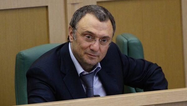 Член Совета Федерации РФ Сулейман Керимов. Архивное фото