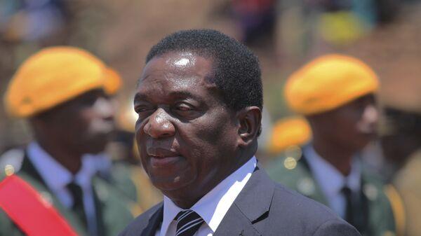 Бывший вице-президент Зимбабве Эммерсон Мнангагва