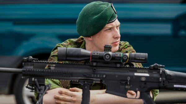 Литовский военнослужащий