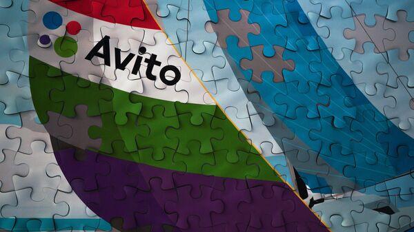 Пазл в офисе компании Avito в Москве