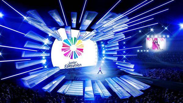 Сцена конкурса Детское Евровидение-2017