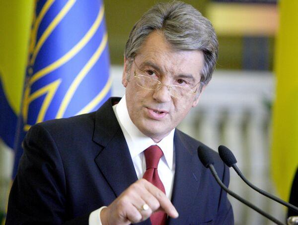Президент Украины Виктор Ющенком