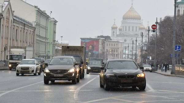 Улица Волхонка в Москве