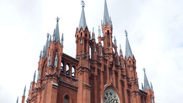 100-летие кафедрального собора Непорочного Зачатия Пресвятой Девы Марии в Москве