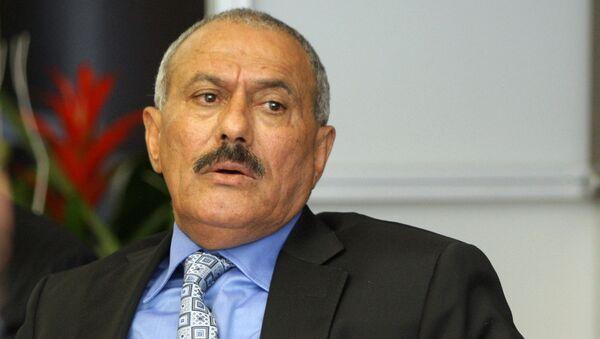 Али Абдалла Салех. Архивное фото