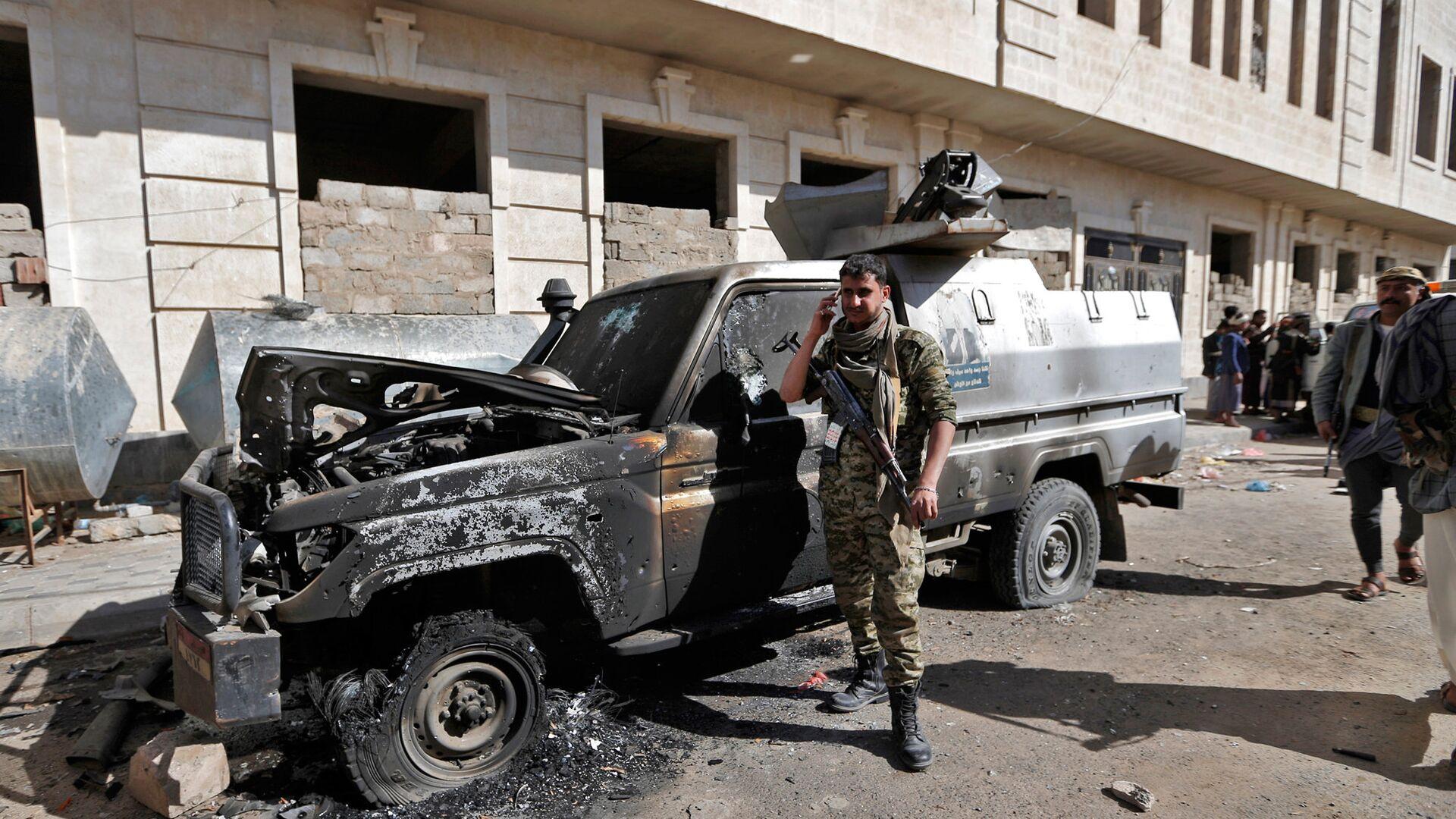 На юге Йемена взорвался автомобиль