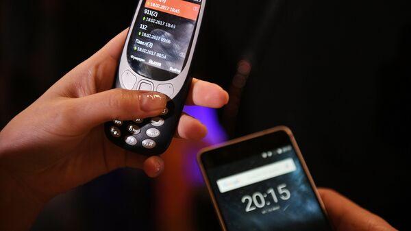 Презентация обновленной Nokia 3310 в Москве