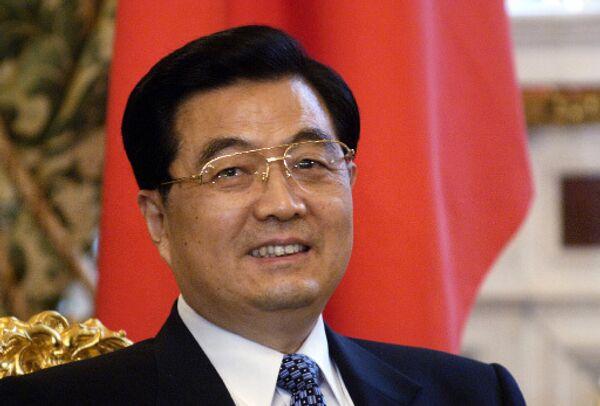 Председатель КНР Ху Цзинтао. Архив