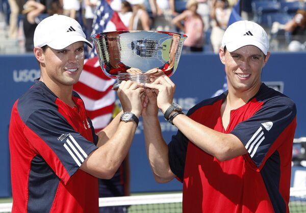 Братья Брайаны выиграли US Open в парном разряде