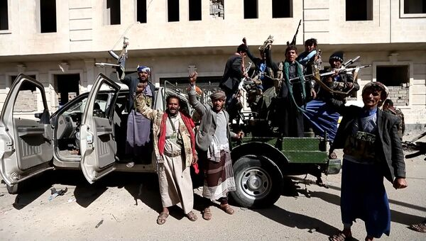 Повстанцы-хуситы ликовали на улицах Саны после гибели экс-президента Йемена Салеха