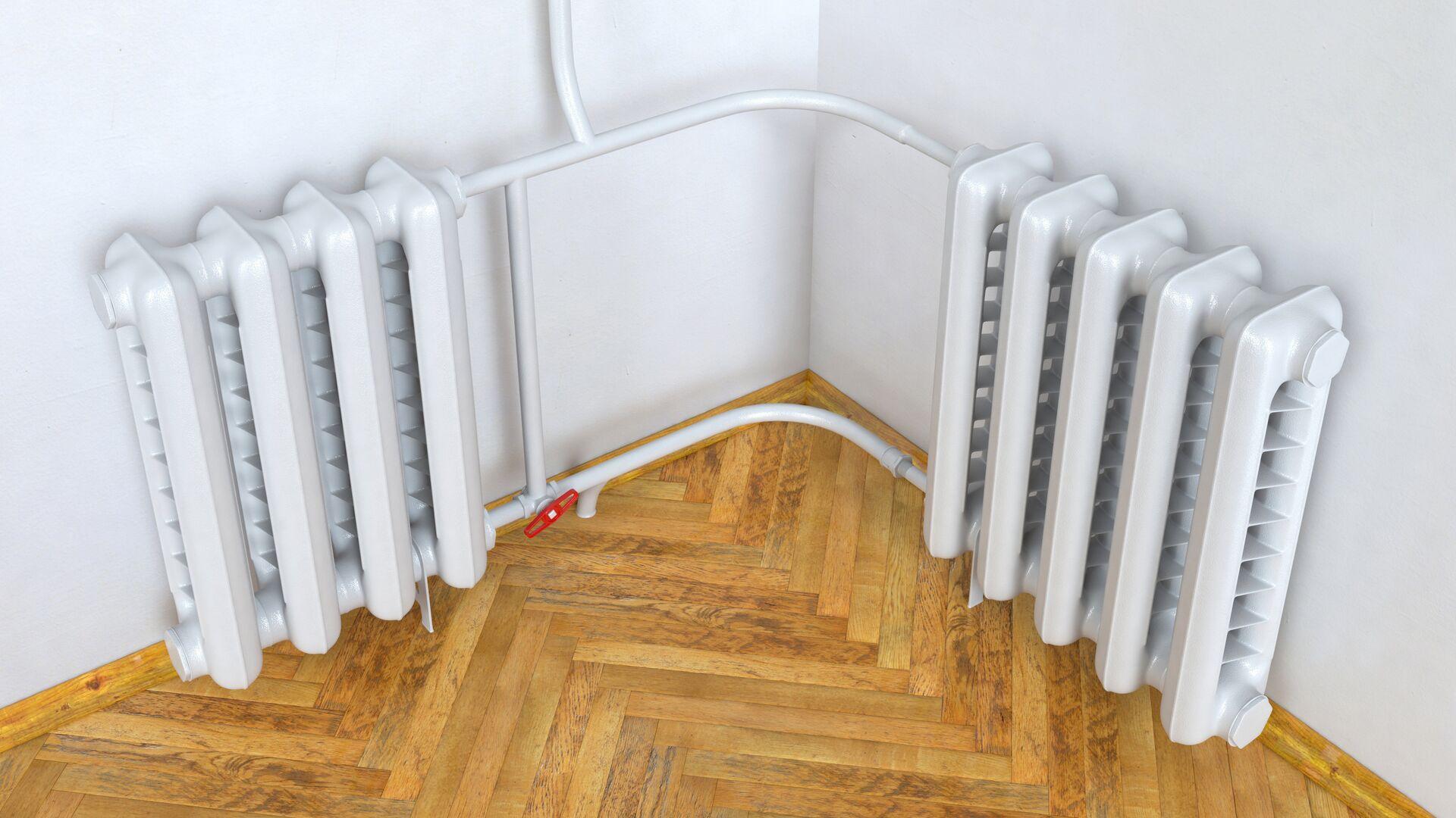 Радиатор отопления в квартире - РИА Новости, 1920, 15.09.2021