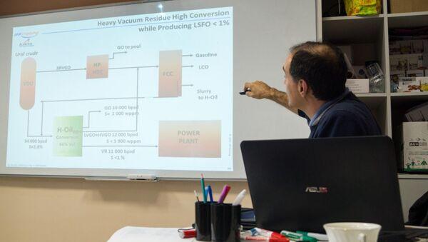 Профессор Серж Леклер провёл курс лекций для магистрантов и аспирантов Института нефти и газа СФУ