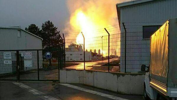 Взрыв на газопроводе в Австрии