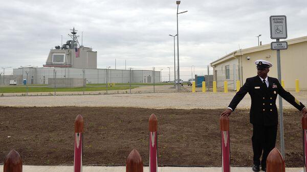 Американская наземная система противоракетной обороны Aegis Ashore на военной базе в Девеселу, Румыния