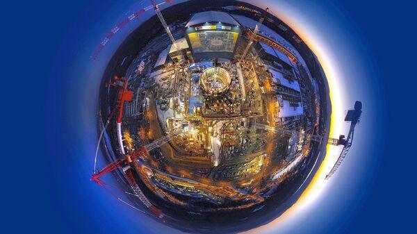 Строительство термоядерного реактора ИТЭР
