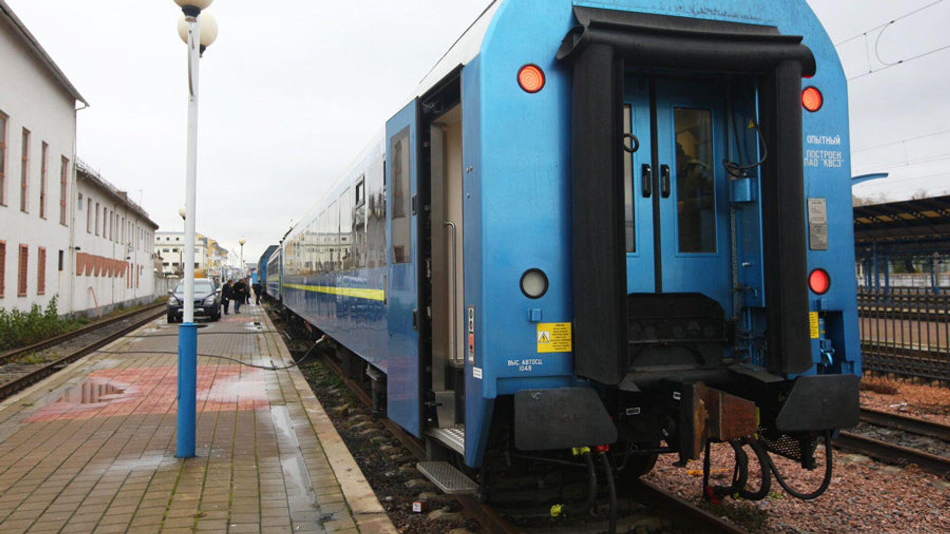 Поезд, который ОАО Укрзализныця запустила по маршруту Киев-Вена - РИА Новости, 1920, 17.01.2021