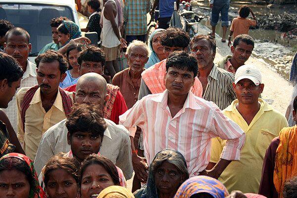 Катастрофическое наводнение в индийском штате Бихар, вызваное прорывом дамбы на гималайской реке Коси (сентябрь 2008 года)
