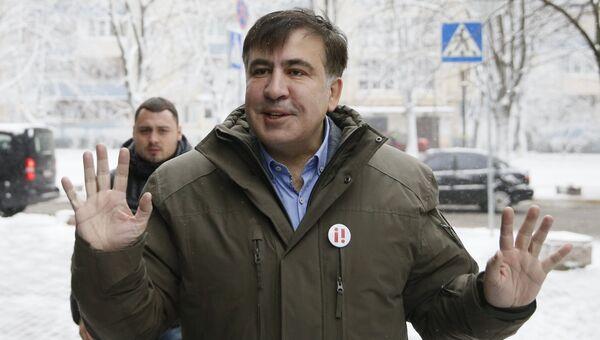Михаил Саакашвили в Киеве. 18 декабря 2017