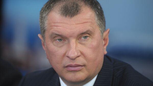 Вице-премьер РФ Игорь Сечин. Архив