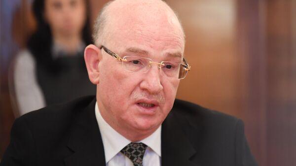 Комиссар Африканского союза по вопросам мира и безопасности Смаил Шерги. Архивное фото
