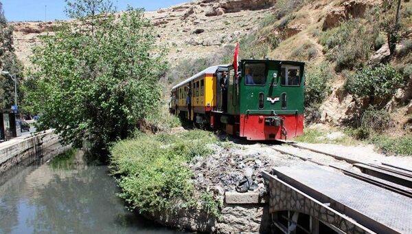 Поезд в Сирии. Архивное фото