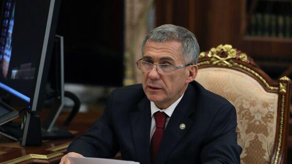 Глава Татарстана Рустам Минниханов. Архивное фото