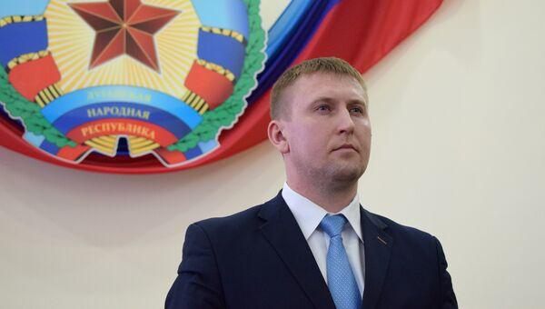 Депутат Народного Совета ЛНР Денис Мирошниченко. Архивное фото