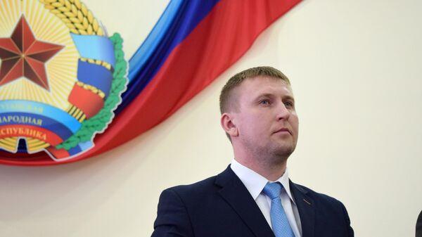 Глава Народного Совета ЛНР Денис Мирошниченко