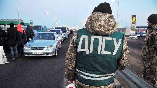 Пункт пропуска Краковец - Корчева на украино-польской границе