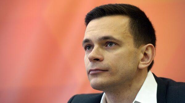 Член федерального политсовета движения Солидарность Илья Яшин