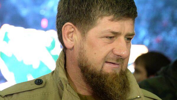 Глава Чеченской Республики Рамзан Кадыров. Архивное фото