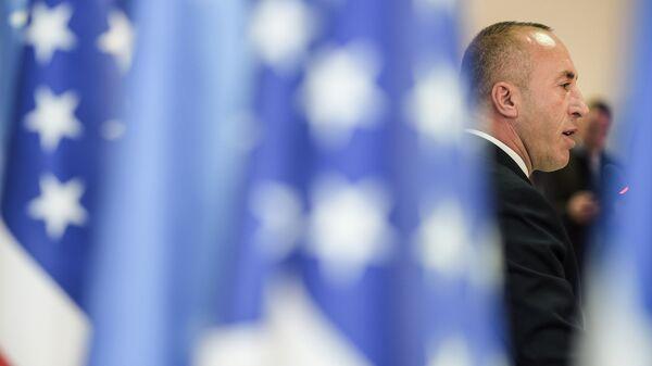 Премьер-министр самопровозглашенного Косово Рамуш Харадинай