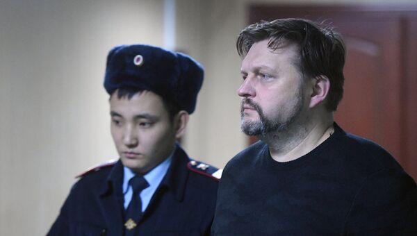 Экс-губернатор Кировской области Никита Белых в Пресненском суде Москвы. 27 декабря 2017