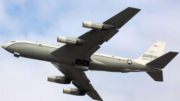 Самолет наблюдения США Boeing OC-135B