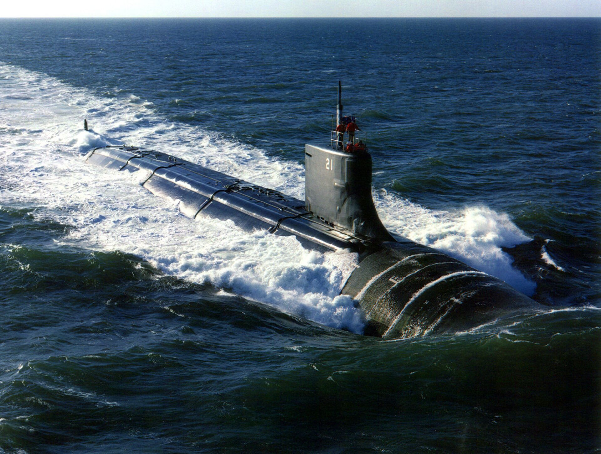 Подводная лодка типа Seawolf - РИА Новости, 1920, 20.10.2020