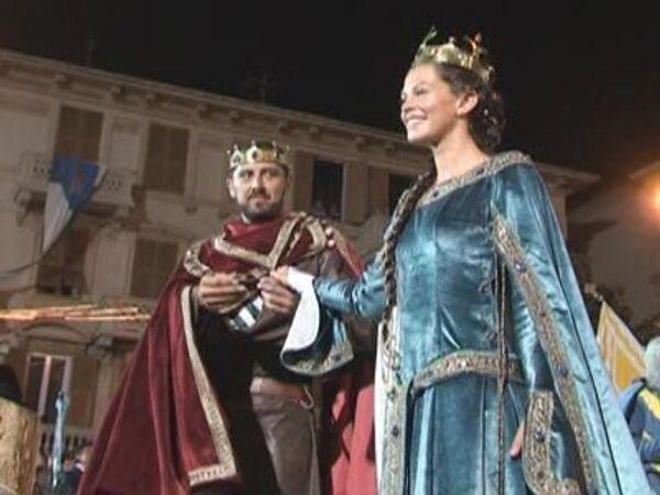 Ожившая история - средневековая свадьба в Италии