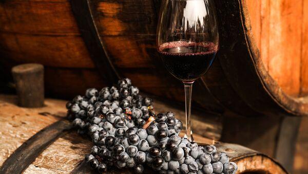 Виноградная лоза. Архивное фото