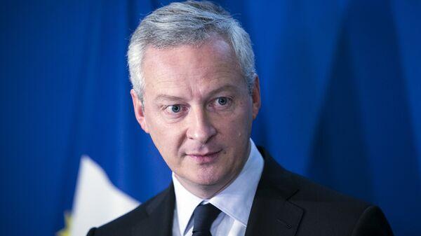 Министр финансов Франции Бруно Ле Мэр. Архивное фото