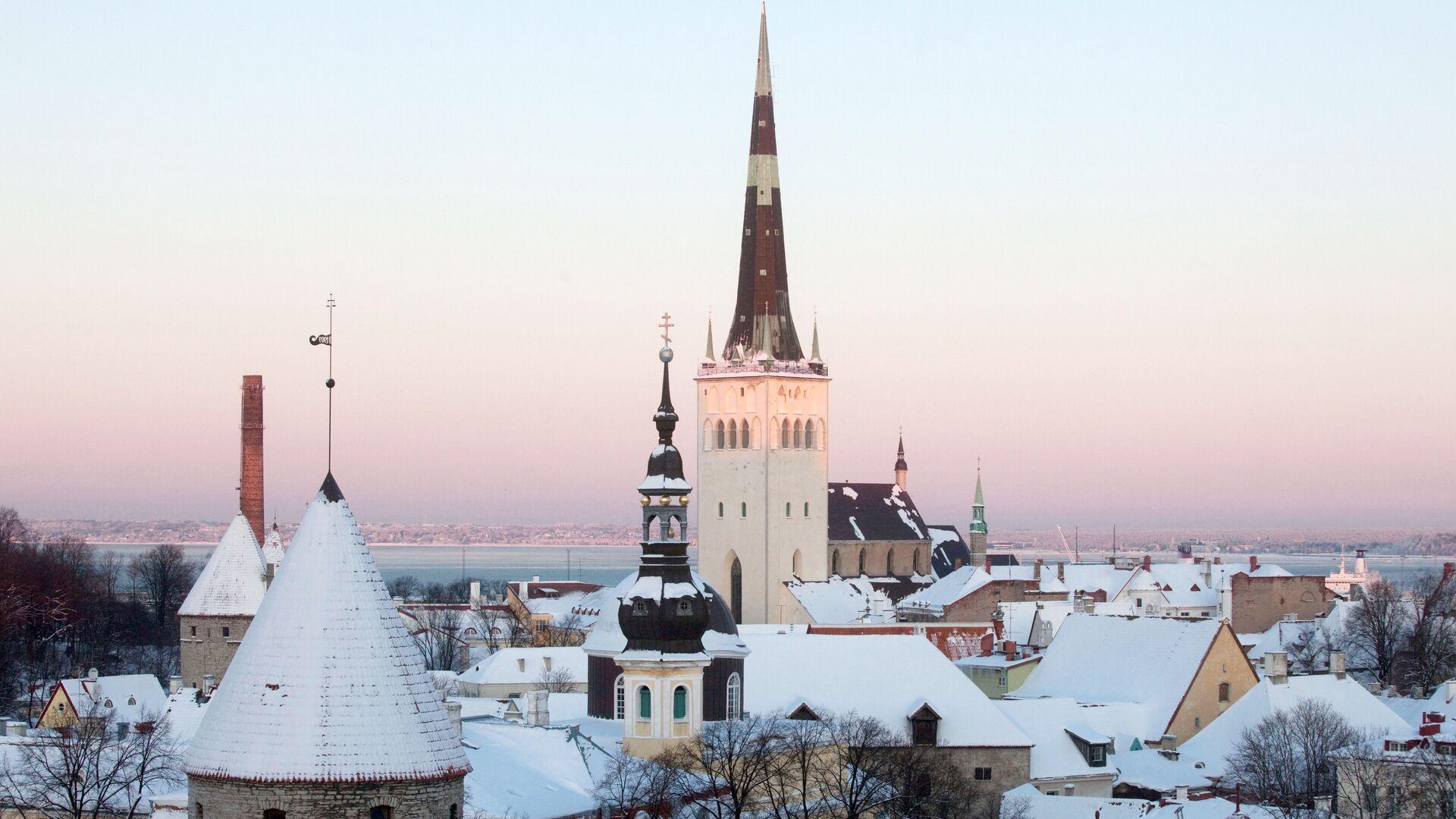 Вид на исторический центр Таллина - РИА Новости, 1920, 11.03.2021
