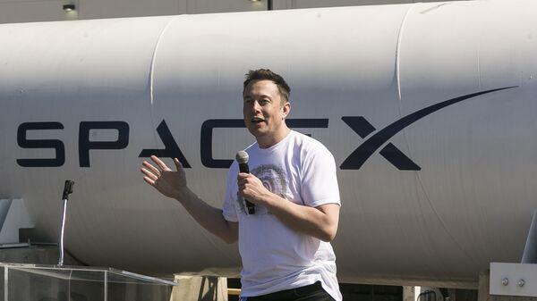 Генеральный директор SpaceX Илон Маск. Архивное фото