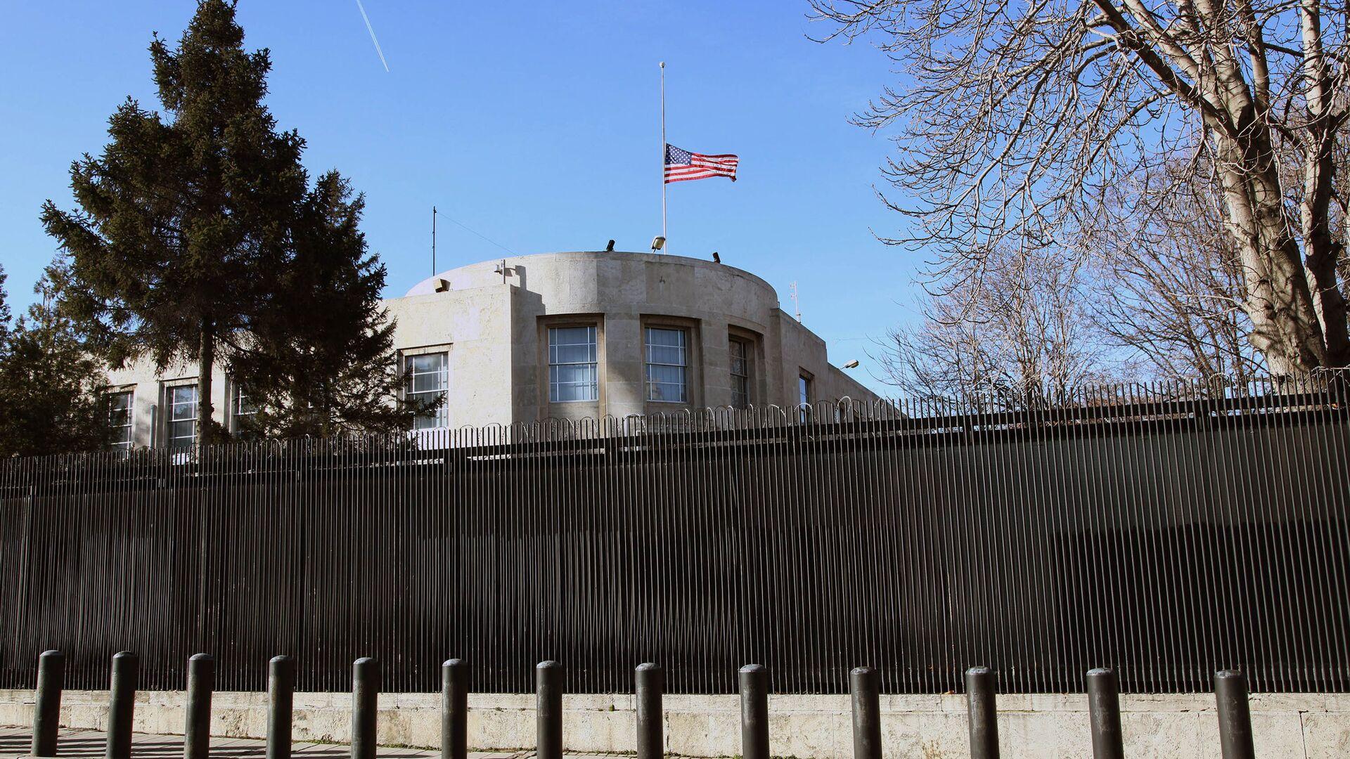 Здание американского посольства в Анкаре - РИА Новости, 1920, 24.04.2021