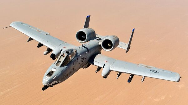 Самолет A-10 Thunderbolt II