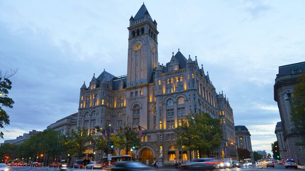 Trump International Hotel на Пенсильванском проспекте в Вашингтоне