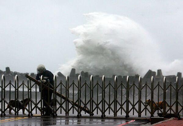 Тайфун Синлаку на острове Тайвань