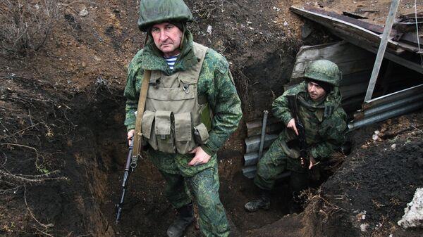 Военнослужащие армии ДНР. Архивное фото