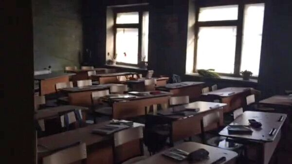 Нападение на школу в поселке Сосновый Бор в Улан-Удэ. Архивное фото