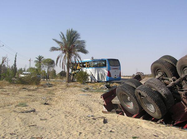 Автокатастрофа в Египте