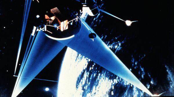 Концепция военного спутника в рамках Стратегической оборонной инициативы США