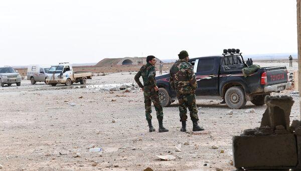 Сирийские военные в Идлибе. Архивное фото